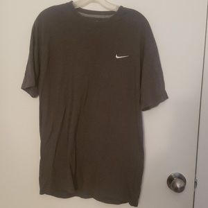 Nike gray mens tshirt in large
